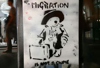 """Migration is not a crime"""